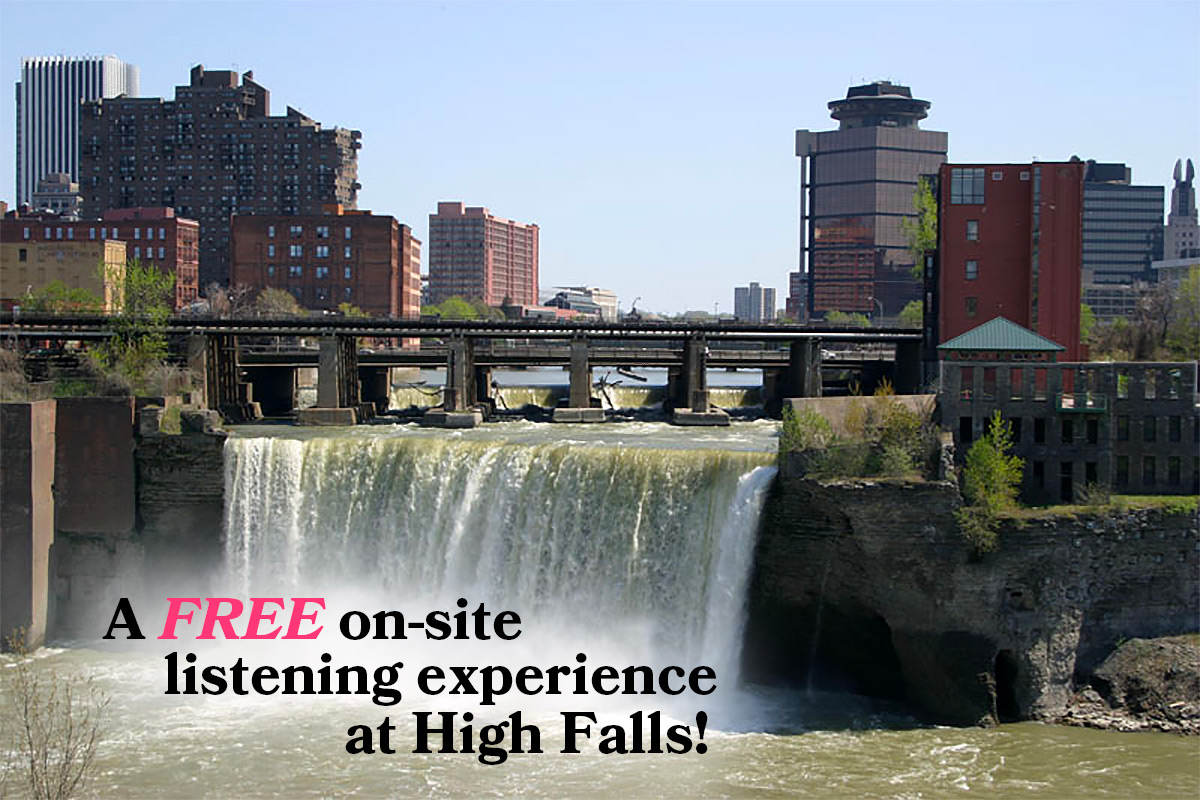 The Memory Palace On-Site Listening Experience at High Falls