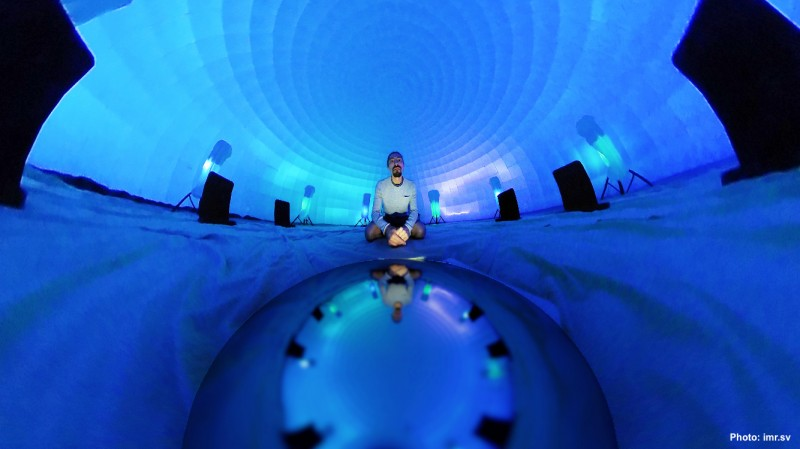 3D Sound Experience in the Immersive Igloo