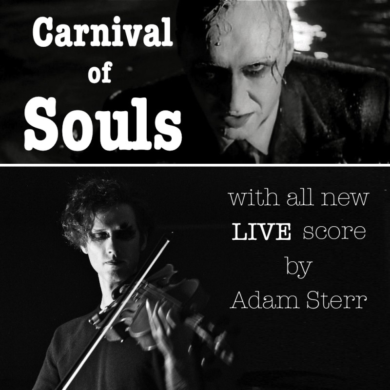 1962 cult film Carnival of Souls, recut with an all new LIVE score!