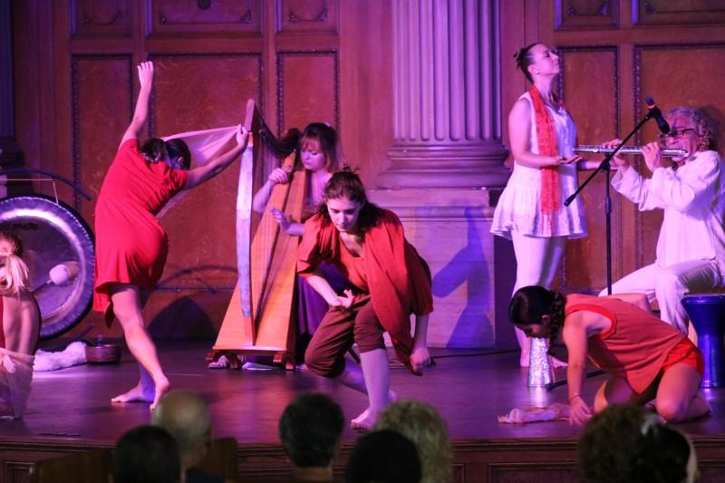 YOGA MUSIC & UNWORLDLY DANCE