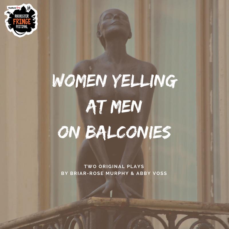Women Yelling at Men on Balconies