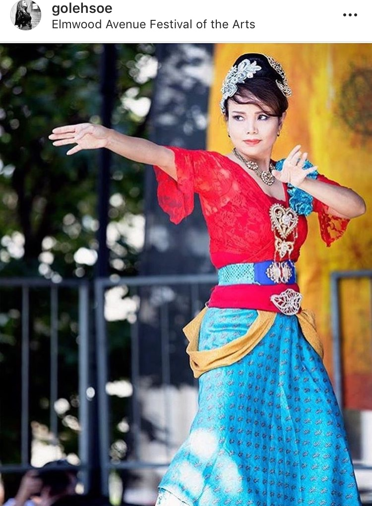 The Jaipong Dance