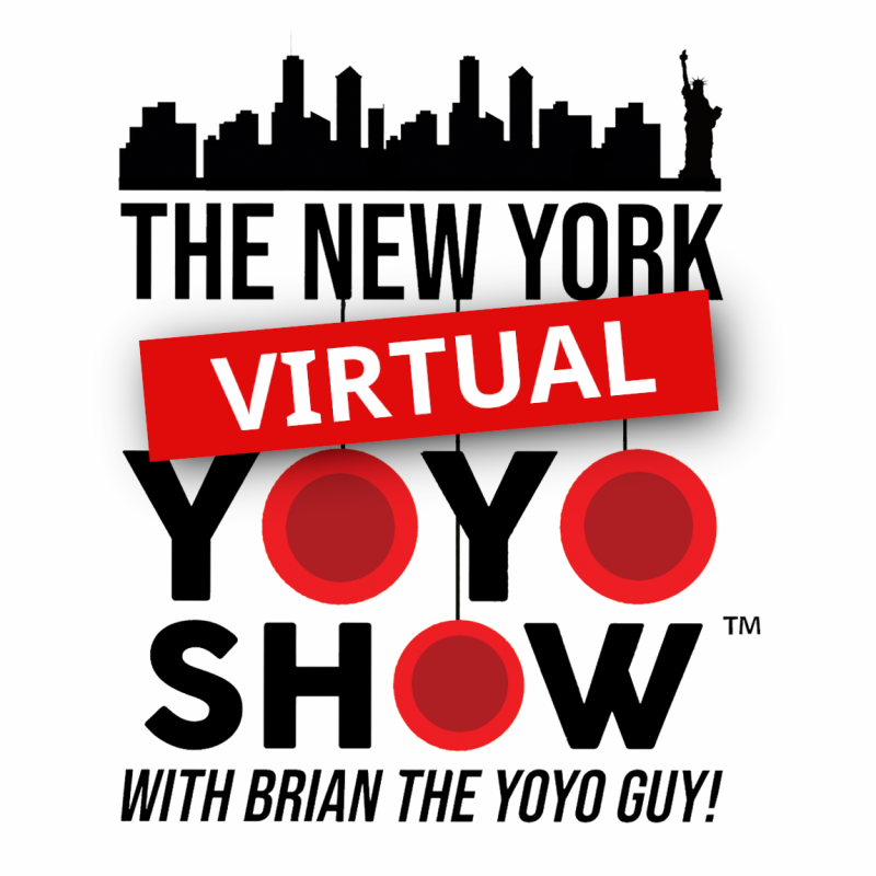 The New York Virtual Yoyo Show™ with Brian the Yoyo Guy!