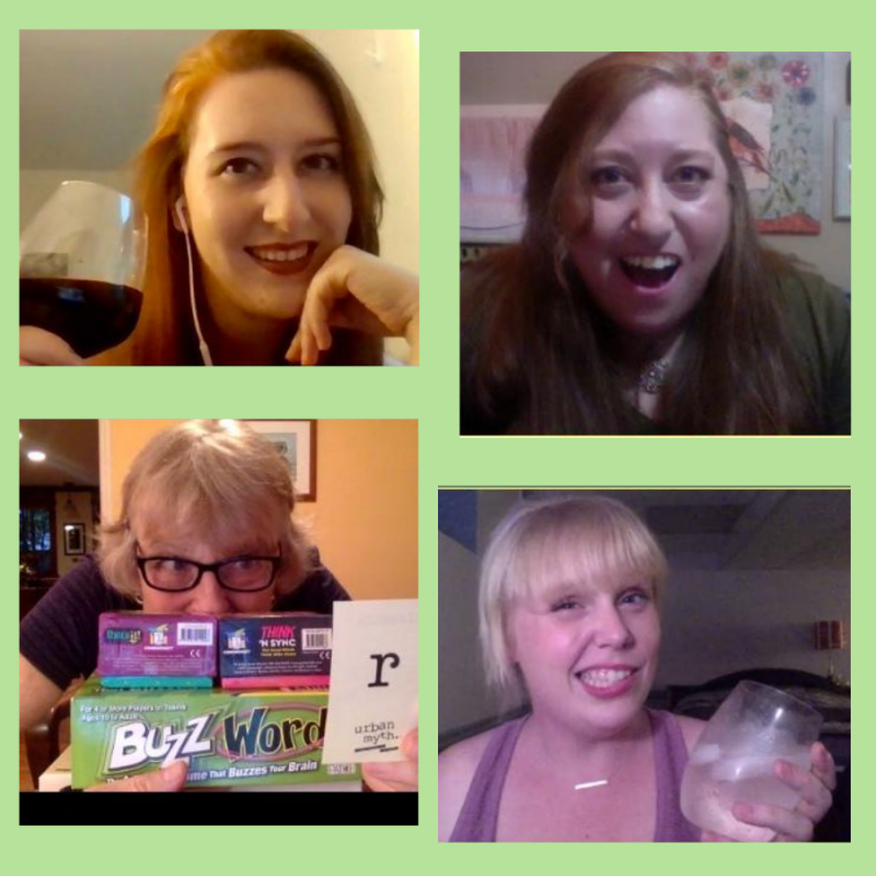 Good Luck Improv: A Very Virtual Happy Hour!