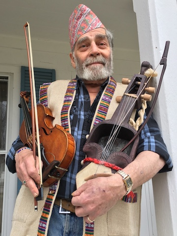 MOUNTAIN BLUES: HIMALAYAN TO APPALACHIAN: HOWIE LESTER WITH SARANGI AND FIDDLE