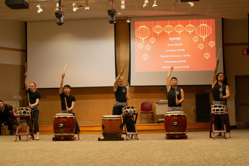 Taiko: Japanese Drumming Performance