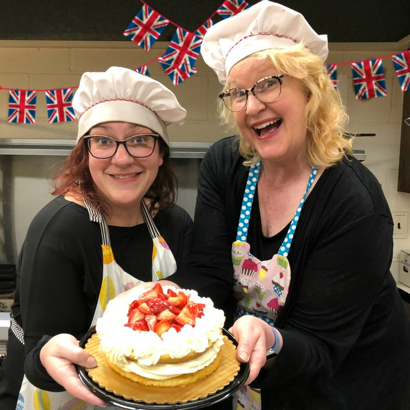 Bushwhacked British Bake Off