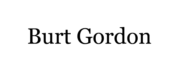 Burt Gordon