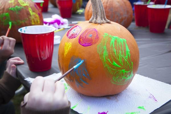 Farm to Fringe: Pumpkin Painting