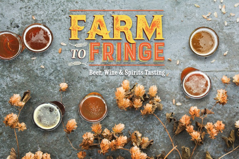 Farm to Fringe: Beer, Wine & Spirits Tasting