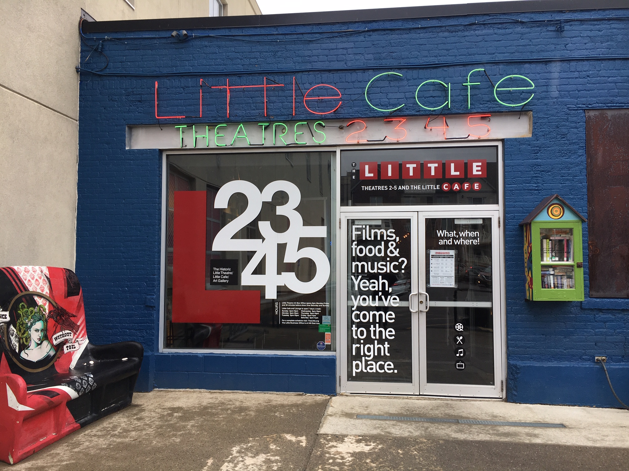 The Little: Café Accessibility