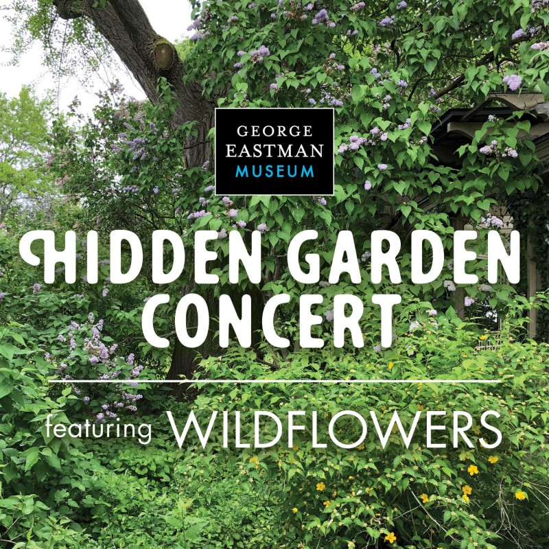 Hidden Garden Concert with Wildflowers: A Tribute to Tom Petty