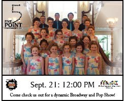 Terry Fyke's Five Point Performance Company Broadway Revue