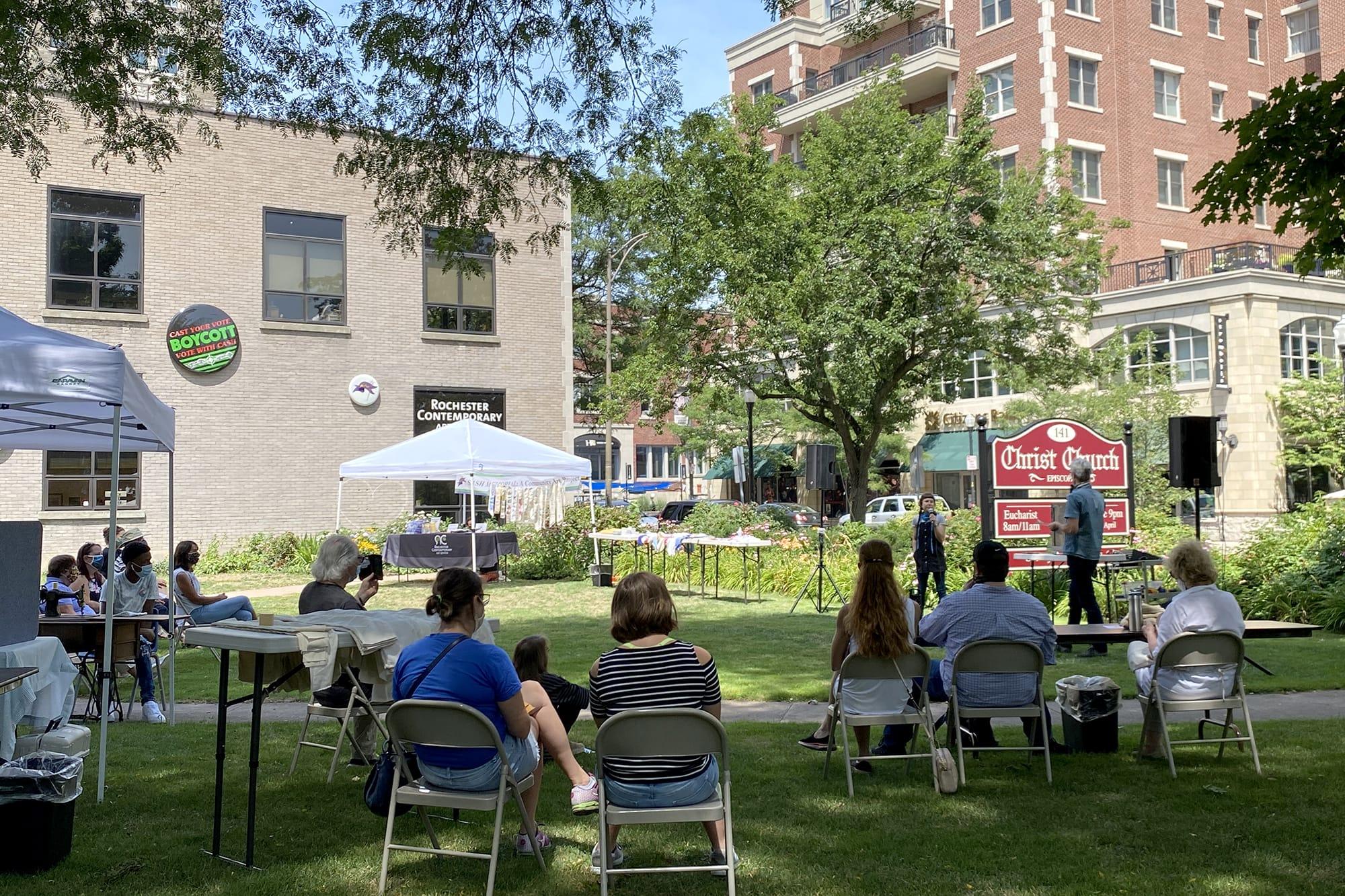 Rochester Contemporary Art Center: Side Lawn